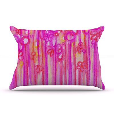 Spring Sensations by Ebi Emporium Featherweight Pillow Sham Size: Queen, Fabric: Woven Polyester