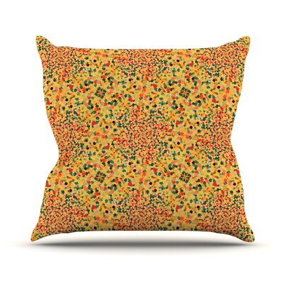 Swept Away II by Ebi Emporium Throw Pillow Size: 16 H x 16 W x 3 D