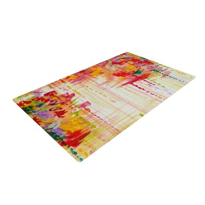 Ebi Emporium Stormy Moods Orange Area Rug