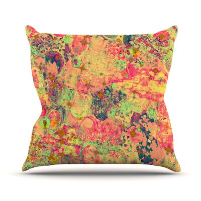 Time For Bubbly by Ebi Emporium Throw Pillow Size: 20 H x 20 W x 4 D
