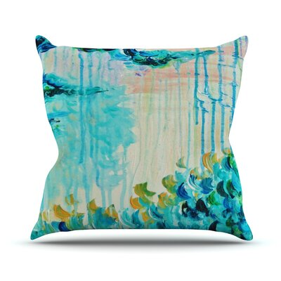 Poseidons Wrath by Ebi Emporium Throw Pillow Size: 16 H x 16 W x 3 D