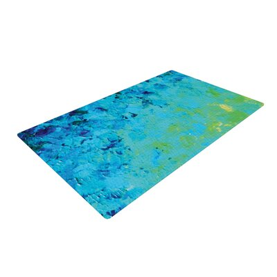 Ebi Emporium True Reflection Blue/Green Area Rug Rug Size: 2 x 3