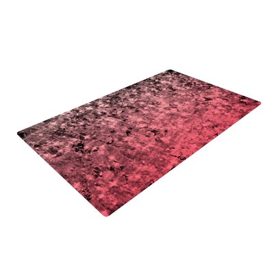 Ebi Emporium So This is Love Glitter Pink Area Rug Rug Size: 2 x 3