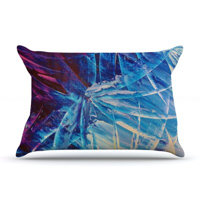 Night Flowers by Ebi Emporium Featherweight Pillow Sham Size: King, Fabric: Woven Polyester