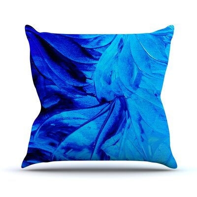 Petal Pinwheels by Ebi Emporium Throw Pillow Size: 16 H x 16 W x 3 D