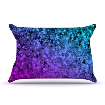 Ebi Emporium Holiday Cheer Pillow Case Color: Teal/Blue