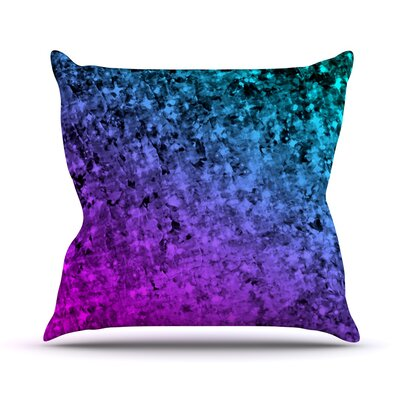 Romance Me by Ebi Emporium Glitter Throw Pillow Size: 18 H x 18 W x 3 D, Color: Mindnight