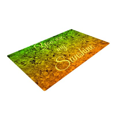 Ebi Emporium You Are My Sunshine Green/Orange Area Rug