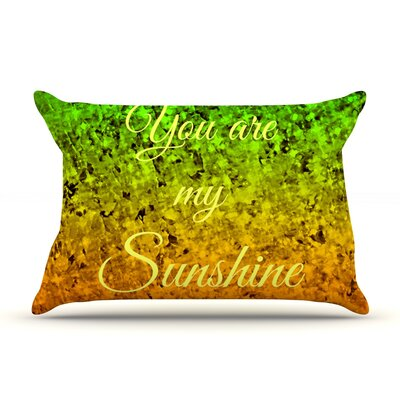 Ebi Emporium You Are My Sunshine Pillow Case
