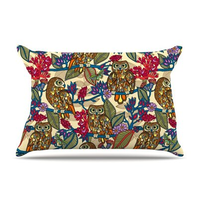 My Boobooks Owls by Julia Grifol Featherweight Pillow Sham Size: King, Fabric: Woven Polyester
