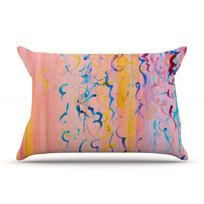 Featherweight Candy Whispers by Ebi Emporium Featherweight Pillow Sham Size: Queen, Fabric: Woven Polyester