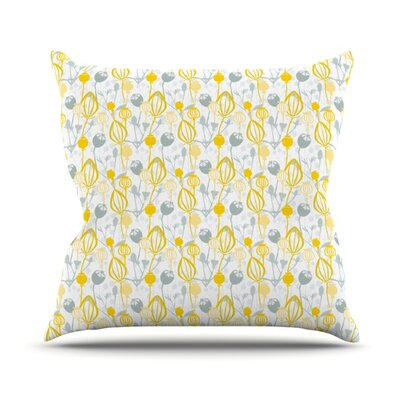 Willow Wisp by Julie Hamilton Throw Pillow Size: 26 H x 26 W x 5 D