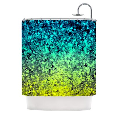 Ebi Emporium Ombre Love Shower Curtain