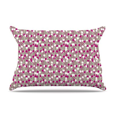 Wineberry by Julie Hamilton Featherweight Pillow Sham Size: Queen, Fabric: Woven Polyester