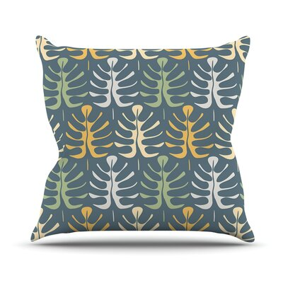 My Leaves by Julia Grifol Throw Pillow Size: 16 H x 16 W x 3 D