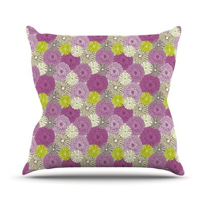 Rhapsody by Julie Hamilton Throw Pillow Size: 26 H x 26 W x 5 D