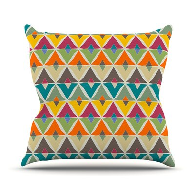 My Diamond by Julia Grifol Throw Pillow Size: 18 H x 18 W x 3 D