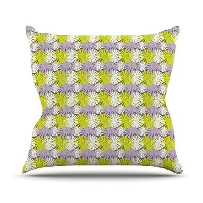 Zinnia by Julie Hamilton Throw Pillow Size: 16 H x 16 W x 3 D