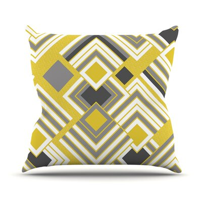 Luca Outdoor Throw Pillow Size: 16 H x 16 W x 3 D