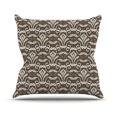 Deco by Julia Grifol Throw Pillow Size: 18 H x 18 W x 3 D
