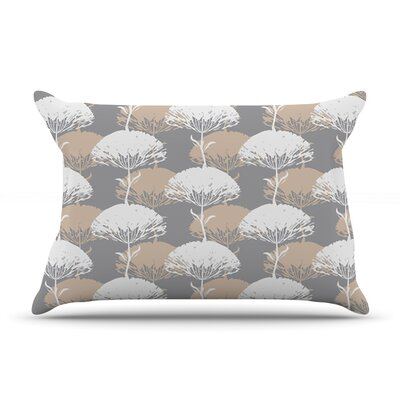Charming Tree by Julia Grifol Featherweight Pillow Sham Size: Queen, Fabric: Woven Polyester