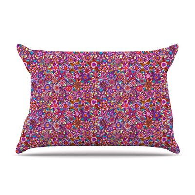 My Dreams in Color by Julia Grifol Featherweight Pillow Sham Size: Queen, Fabric: Woven Polyester