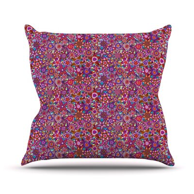My Dreams in Color by Julia Grifol Stars Throw Pillow Size: 26 H x 26 W x 5 D