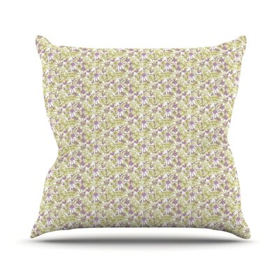 Rhapsody Vine by Julie Hamilton Throw Pillow Size: 26 H x 26 W x 5 D