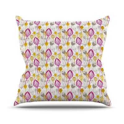 Mulberry by Julie Hamilton Throw Pillow Size: 18 H x 18 W x 3 D