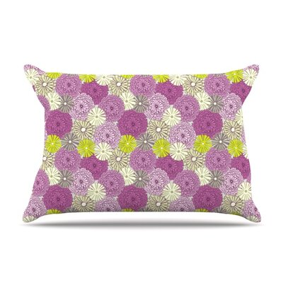 Rhapsody by Julie Hamilton Featherweight Pillow Sham Size: King, Fabric: Woven Polyester