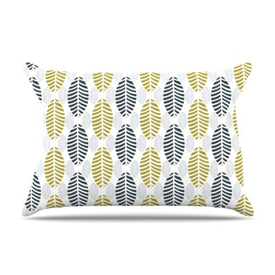 Seaport by Julie Hamilton Featherweight Pillow Sham Size: King, Fabric: Woven Polyester