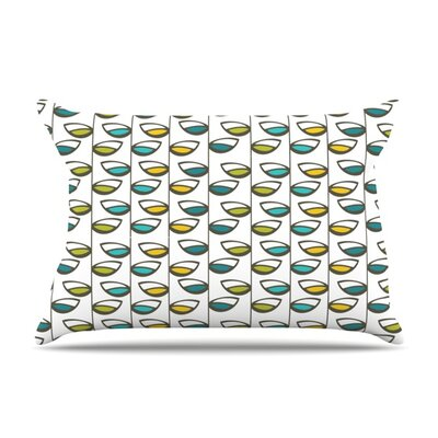 Spring Stem by Julie Hamilton Featherweight Pillow Sham Size: King, Fabric: Woven Polyester