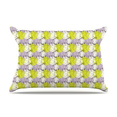 Zinnia by Julie Hamilton Featherweight Pillow Sham Size: Queen, Fabric: Woven Polyester