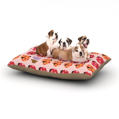 Jane Smith Seasons Spring Dog Pillow with Fleece Cozy Top Size: Small (40 W x 30 D x 8 H)