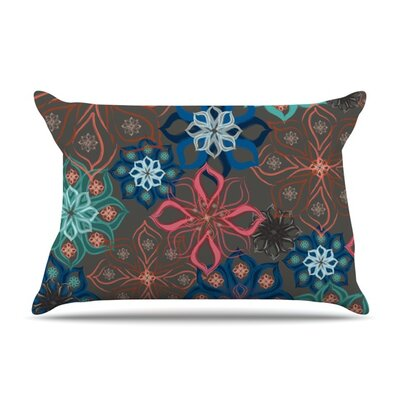 Floral Arrangements by Jolene Heckman Featherweight Pillow Sham Size: Queen, Fabric: Woven Polyester