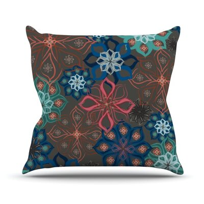 Floral Arrangements by Jolene Heckman Flowers Throw Pillow Size: 18 H x 18 W x 3 D