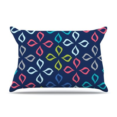 Simple Flower by Jolene Heckman Featherweight Pillow Sham Size: Queen, Fabric: Woven Polyester