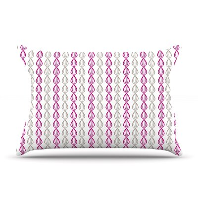 Julie Hamilton Lemon Pod Pillow Case Color: Purple