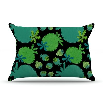 Garden Pods by Jane Smith Featherweight Pillow Sham Size: Queen, Fabric: Woven Polyester