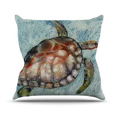 Home Bound by Josh Serafin Throw Pillow Size: 18 H x 18 W x 3 D