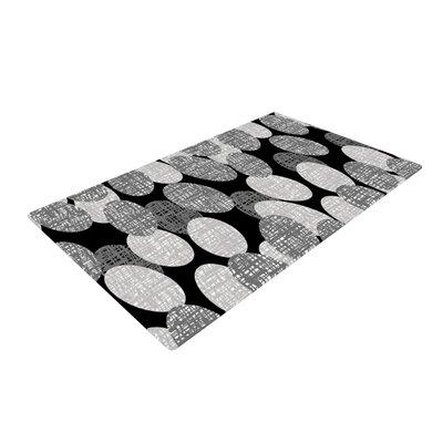 Jacqueline Milton Seeds Monochrome Black/White Area Rug
