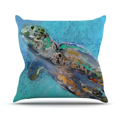 Daddy by Josh Serafin Throw Pillow Size: 18 H x 18 W x 3 D