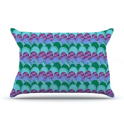 Woodland Waves by Jane Smith Featherweight Pillow Sham Size: King, Fabric: Woven Polyester