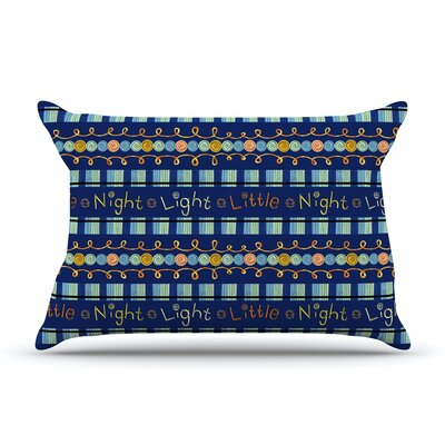 Little Night Light by Jane Smith Featherweight Pillow Sham Size: Queen, Fabric: Woven Polyester