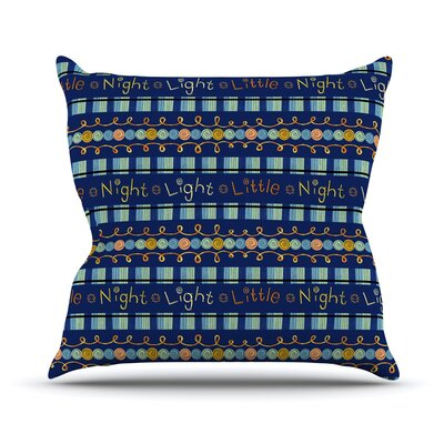 Little Night Light by Jane Smith Throw Pillow Size: 18 H x 18 W x 3 D
