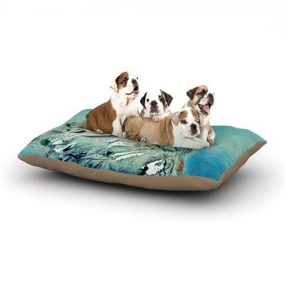 Josh Serafin Drifter Dog Pillow with Fleece Cozy Top Size: Small (40 W x 30 D x 8 H)