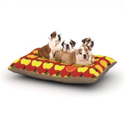 Jane Smith Seasons Autumn Dog Pillow with Fleece Cozy Top Size: Small (40 W x 30 D x 8 H)