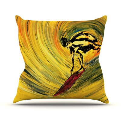 Suppose by Josh Serafin Throw Pillow Size: 26 H x 26 W x 5 D
