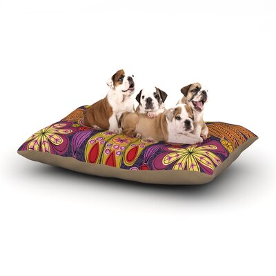 Jane Smith Indian Jewelry Dog Pillow with Fleece Cozy Top Size: Large (50 W x 40 D x 8 H)