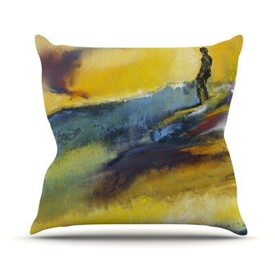 Sano by Josh Serafin Surf Throw Pillow Size: 16
